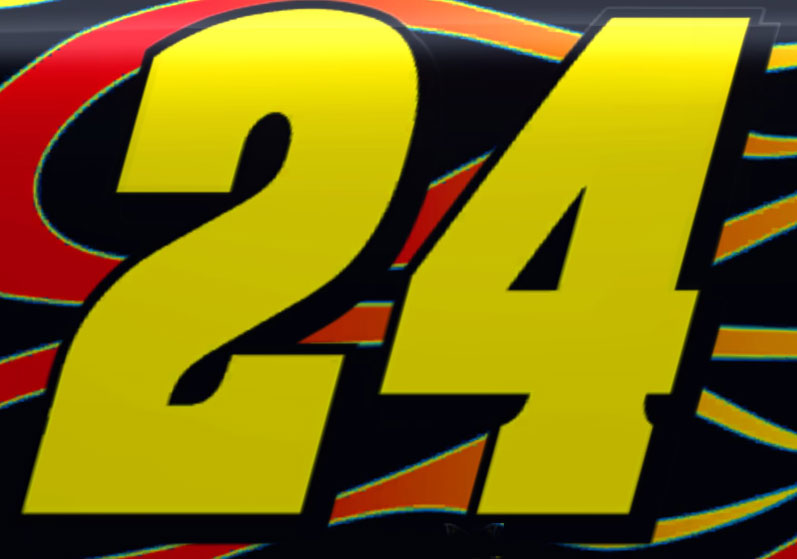 24 Jeff Gordon