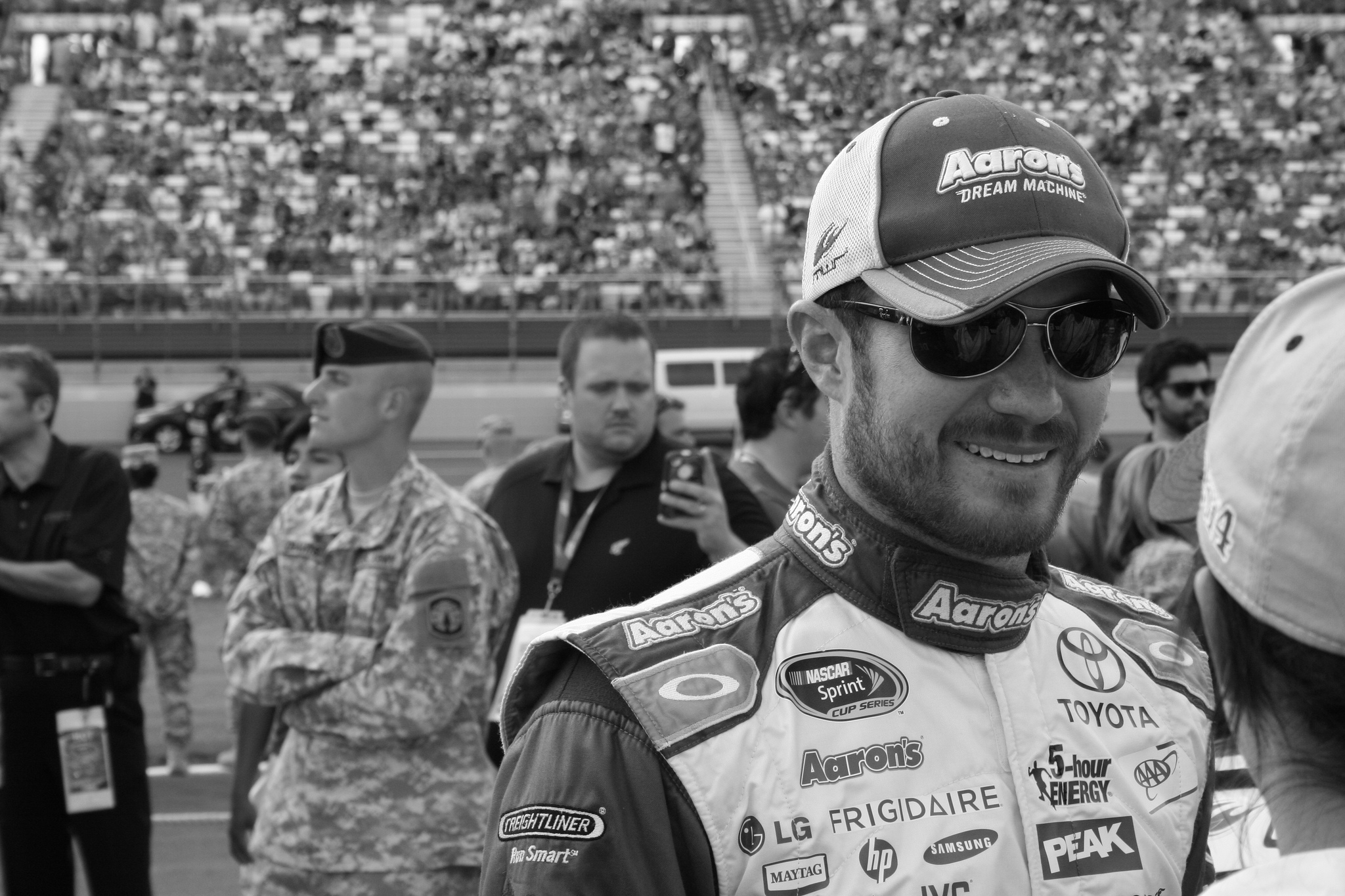 Brian Vickers at 2014 Coca Cola 600