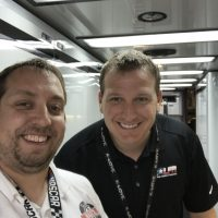 Closet NASCAR Fan with Michael McDowell