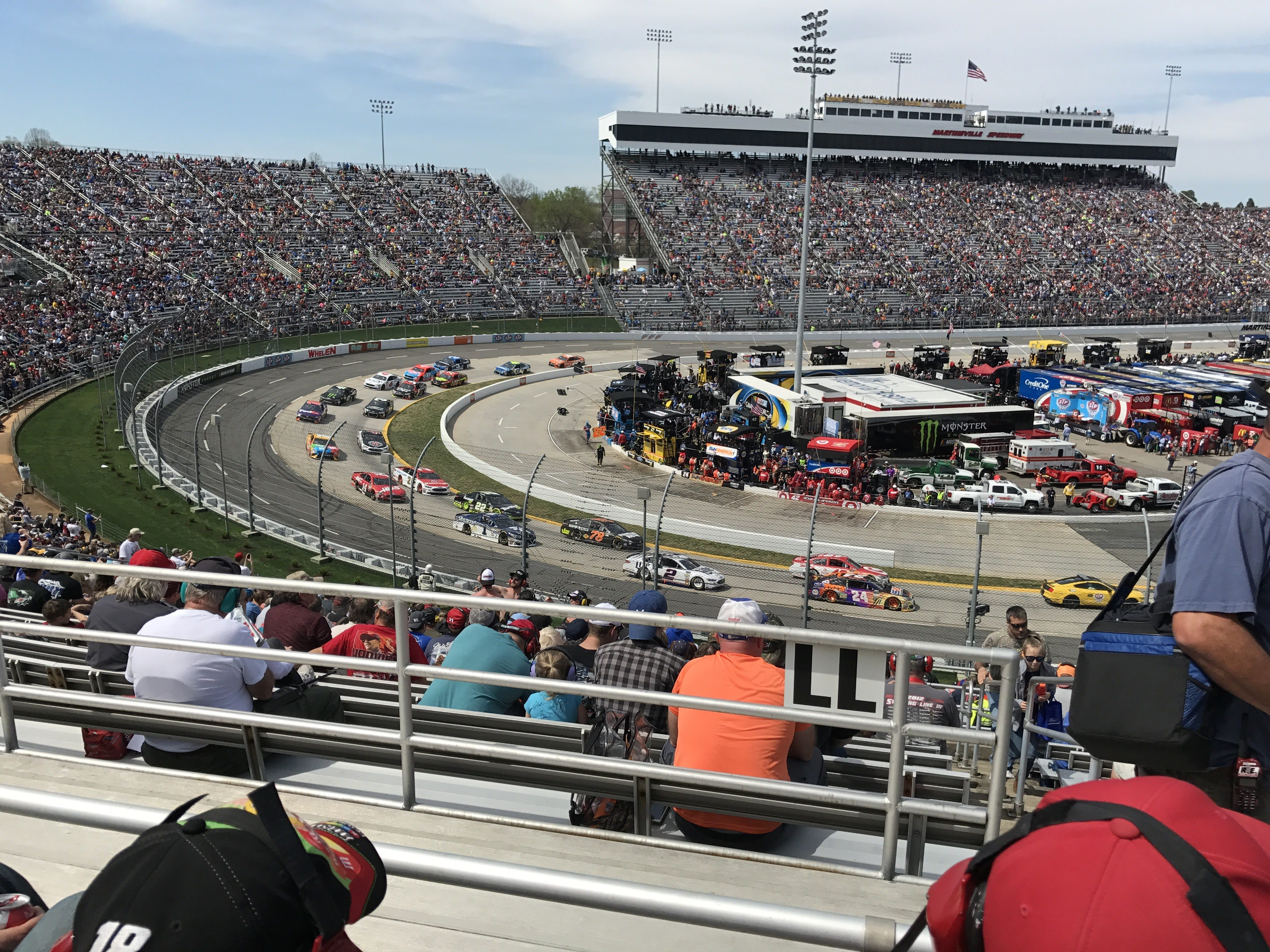 Martinsville Speedway Announces New Seating Area Closet