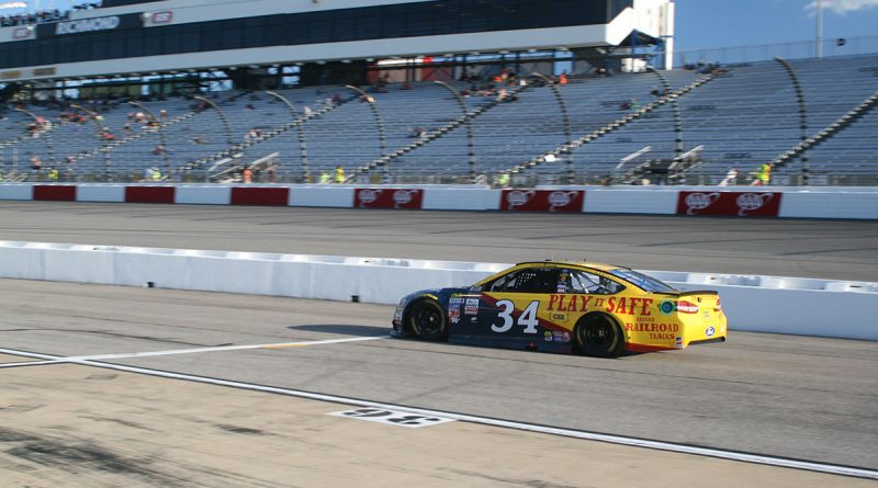 No. 34 of Landon Cassill on Pit Road at Richmond Raceway
